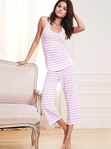 Racerback Crop Pajama