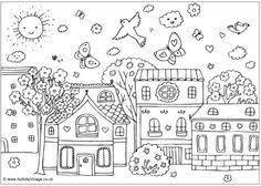 Resultado De Imagem Para Desenhos Da Arte Naif Para Imprimir E