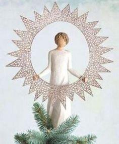 Willow Tree, Angel, Starlight Tree Topper
