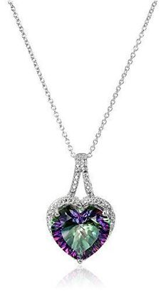 Finejewelers Sterling Silver Stellux Crystal Triple Dolphin Pendant Necklace Chain Included