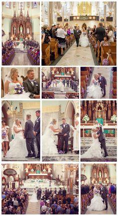 Historic Church Of St Patrick Cathedral Toledo Ohio Wedding Photos Memories Captured By Brenda