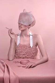art direction | pink monochromatic fashion styling still life photography - Carolina Mizrahi