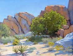 Desert Tree by Sharon Weaver in the FASO Daily Art Show