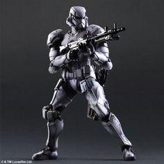 Square Enix Star Wars Play Arts Variant Figures - Stormtrooper-005