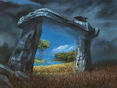 """Transport by Door(way)  """"The Forgotten Door"""" (book)"""