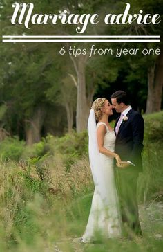 The best tips for a fabulous first year of marriage!