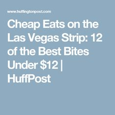 If you've come to Vegas looking for cheap buffets and 99 cent shrimp cocktails, let's hope you remembered to bring your time machine. Las Vegas Eats, Las Vegas Restaurants, Las Vegas Blvd, Las Vegas Trip, Vegas 2017, Vegas Vacation, Vacation Places, Vacation Spots, Vacation Ideas