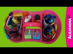 [VIDEO]: Homework Organization Caddy for Students from http://www.alejandra.tv