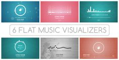 Flat Music Visualizer! Use Flat Music Visualizer templates for creating your music video for promotion it on YouTube, Vimeo or other video sirvices. Just choose one of the 6 flat equalizers and one of the 6 animated backgrounds, import your music and enjoy your video!  #envato #videohive #aftereffect #AE You Videos, Music Videos, Create Your Own Background, Music Visualization, Audio Track, Animation Background, After Effects Templates, Flats, Songs