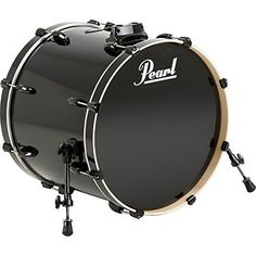 Pearl Vision Birch Bass Drum Jet Black 22x18 *** To view further for this item, visit the image link.