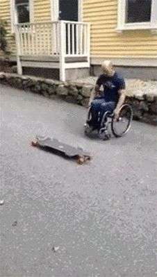 Who said that the disabled have limits now??