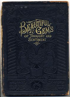 besottment by paper relics: Free Download: Beautiful Gems of Thought and Sentiment