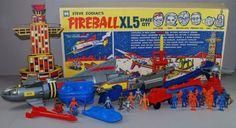 """Fireball XL5 Space City"" play-set toy."