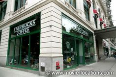 Film locations for You've Got Mail (1998) - You've Got Mail filming location: Kathleen and Joe pass each other at the coffee shop: Starbucks, Broadway, Upper West Side, New York