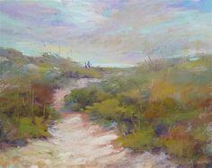 """""""Outer Banks on my Mind"""" - Original Fine Art for Sale - © Karen Margulis"""