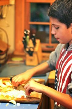 ben and birdy: You've Been Chopped: Organizing a Kids' Cooking Contest