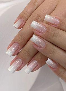 Super pretty nail art designs that worth to try 20 Best glitter nail designs 2019 Pretty Nail Designs, Pretty Nail Art, Gel Nail Designs, Nails Design, Elegant Nails, Classy Nails, Stylish Nails, Sparkly Nails, Pink Nails