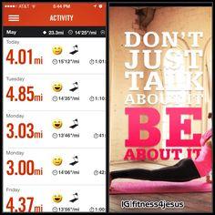 5/7/14: 4 miles + 1 min 20 sec wall sit
