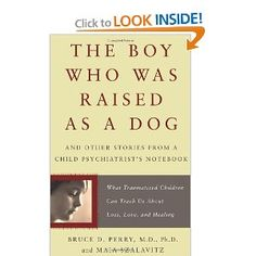 a must read for anyone in the field of foster care, adoption, work with traumatized children.  fantastic information about how trauma impacts brain development, AND how to help.  besides that, it's just an interesting read for anyone, i'd say.