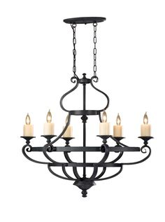 Buy the Feiss Antique Forged Iron Direct. Shop for the Feiss Antique Forged Iron King's Table 6 Light 1 Tier Chandelier and save. Black Chandelier, Chandelier Ceiling Lights, Room Lights, Pendant Lighting, Rustic Chandelier, Kings Table, Iron Chandeliers, Direct Lighting, Ideas