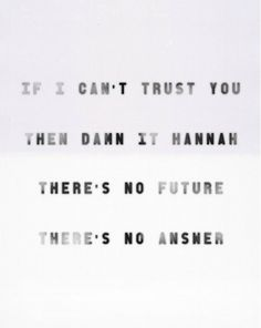 Vampire Weekend-Hannah Hunt. Obsessed with this song!