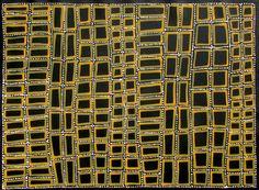 Aboriginal Artwork by Adam Reid. Sold through Coolabah Art on eBay. Cataogue ID 09163
