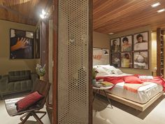 Loft Mulher Moderna - Casa Cor 2014  Isabela Bethônico Arquitetura