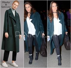 Airport Style : Neha Dhupia in Marks and Spencer | PINKVILLA