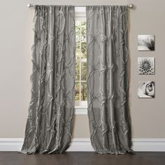 Lush Decor 84-inch Avon Curtain Panel - Overstock™ Shopping - Great Deals on Lush Decor Curtains