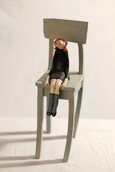 Feeling small. #doll #sculpture #art Anne-sophie Gilloen