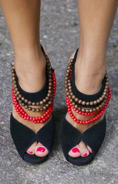 Burberry Tribal High Heels