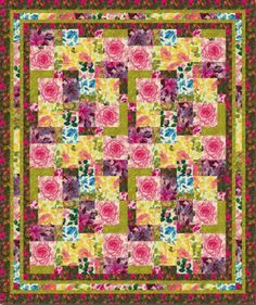 Free Quilt Patterns to Print   ... quilt pattern at Fabric Trends project page. Go straight to the PDF