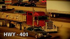 Timelapse video of Highway The section running through Toronto is the busiest stretch of freeway in North America, with over half a million cars per day. Ontario, North America, Toronto, Canada, Running, Cars, Business, Keep Running, Autos