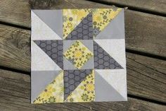 Sewing by Moonlight's Road Trip Quilt Along - Indiana puzzle quilt block
