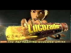 """Tomb Raider """"Lucozade Advertisement"""" (TV Commercial, Spot, 1999) - YouTube"""