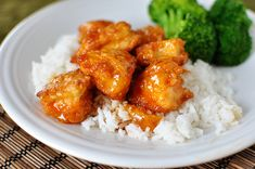 Sweet and Sour Chicken. Sub Splenda and cook just like the sticky crockpot chicken. Yum!