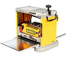 12-1/2-in Thickness Planer with Three Knife Cutter-Head