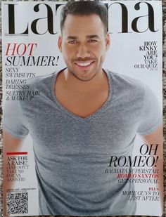 "ROMEO SANTOS LATINA MAGAZINE'S JUNE/JULY 2014 ""HOT GUY ISSUE"" COVER STAR!"
