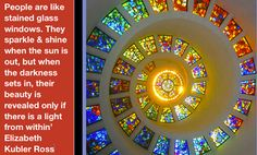 Elizabeth Kubler Ross, Moon In Leo, Melbourne Australia, Stained Glass Windows, Intuition, Wednesday, Feelings, Projects