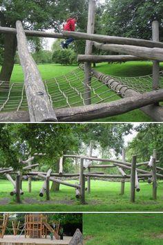 Adventure Playground Del Ao 2010 En Regents Park Al Oeste De Londres By
