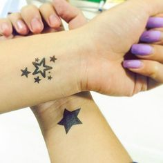 stars tattoo #ink #youqueen #girly #tattoos #stars