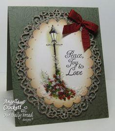Peace, Joy Love = Body Mind Spirit Stamps