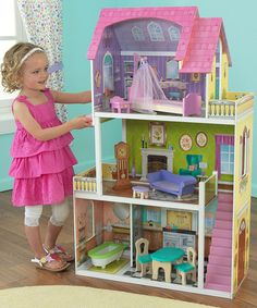 Take a look at this Florence Dollhouse by KidKraft on #zulily today!