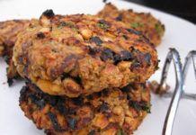 Chickpea and Mushroom Burger Vegetarian Entrees, Vegan Vegetarian, Mushroom Burger, Cooking Recipes, Healthy Recipes, Base Foods, Eating Habits, Tandoori Chicken, Stuffed Mushrooms