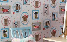 Dogs and Cats   Tapeten der 70er