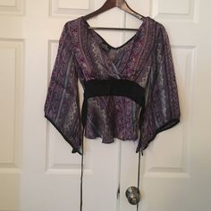 Angie tunic top Very boho small fit Angie Tops Blouses