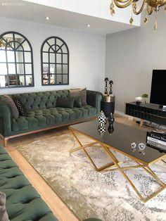 Burdur Apartment With Duplex Plan That Stands Like A Detached House Plantas Duplex, Design Marocain, Decoration Hall, Duplex Plans, Salon Design, Detached House, Minimalism, Couch, Colours