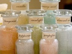 How to make bath salts at home