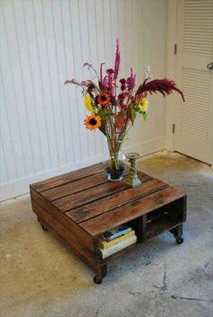Multi Pallet Nightstand Purpose Used Wood | Pallet Furniture Ideas