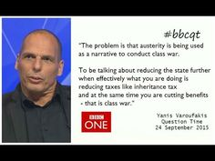 Refugee Crisis: Yanis Varoufakis Shuts Down Ukip's Refugee Argument On Question Time